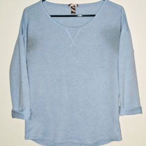White Stag light blue top